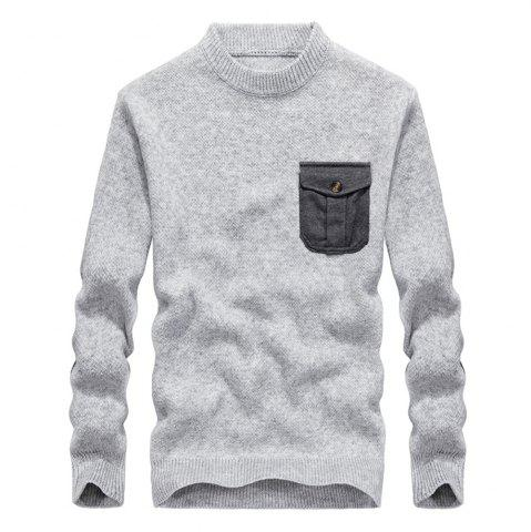 Trendy Fashion New Men Pullovers Youth Knit Sweaters