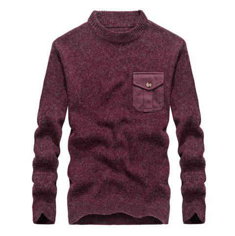 Buy Fashion New Men Pullovers Youth Knit Sweaters