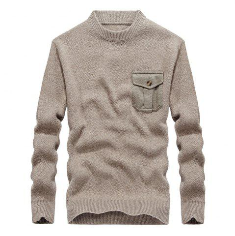 Outfit Fashion New Men Pullovers Youth Knit Sweaters