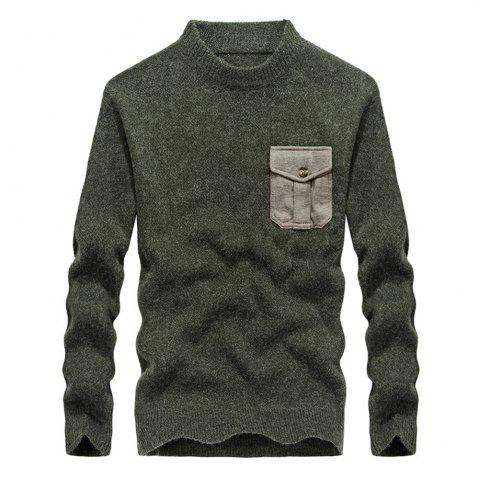 Best Fashion New Men Pullovers Youth Knit Sweaters