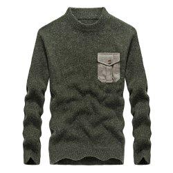 Fashion New Men Pullovers Youth Knit Sweaters -
