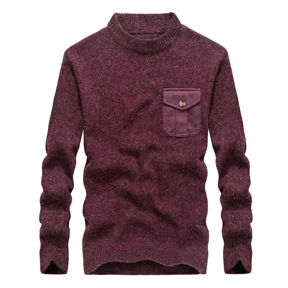 Shops Fashion New Men Pullovers Youth Knit Sweaters