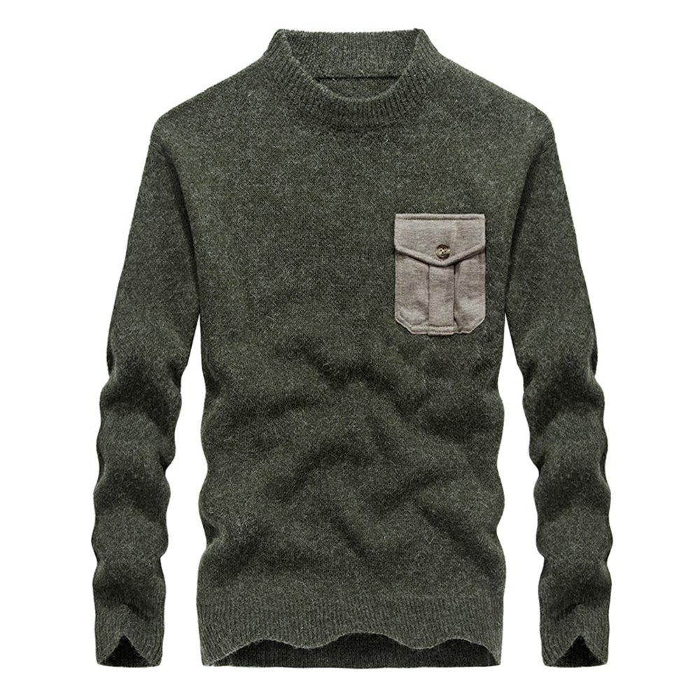 Unique Fashion New Men Pullovers Youth Knit Sweaters