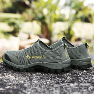 New Homass Low-Profile Outdoor Hiking Shoes -