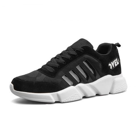 Chic New Men's Lightweight Solid Color Classic Sneakers