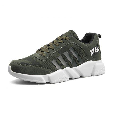 Buy New Men's Lightweight Solid Color Classic Sneakers