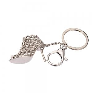 Creative Personality High Heels Key Chain Women Bag Pendant -