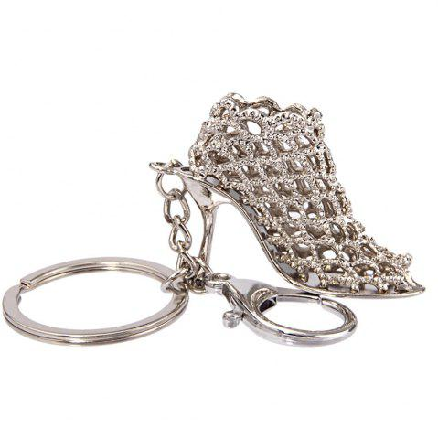 Unique Creative Personality High Heels Key Chain Women Bag Pendant