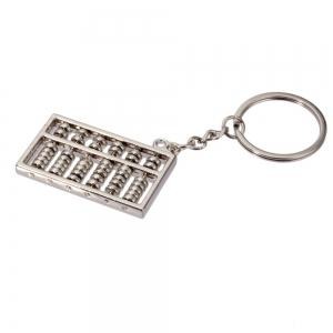 Creative Gold and Silver Abacus Key Pendant 6 Files 1PC -