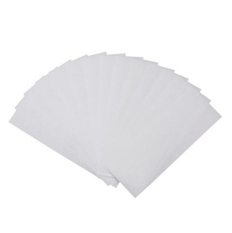 Shops Non-Woven Hair Removal Paper and Waxing One-Time Quick Removal Paper 80 Sheets