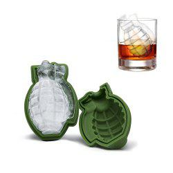 Grenade Shape 3D Ice Cube Mold Maker Silicone Trays Tool -