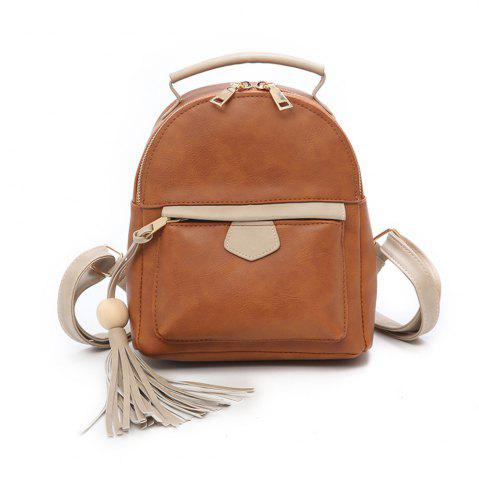 Fancy Fashion Simple Small Fresh Cute Female Mini Backpack Tide