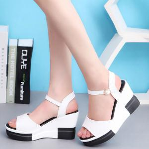Summer New Muffin Platform Sandals -