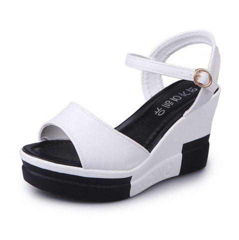 New Summer New Muffin Platform Sandals