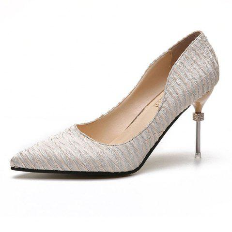 Latest New Pointed Fine with Air Shoes in High Heels