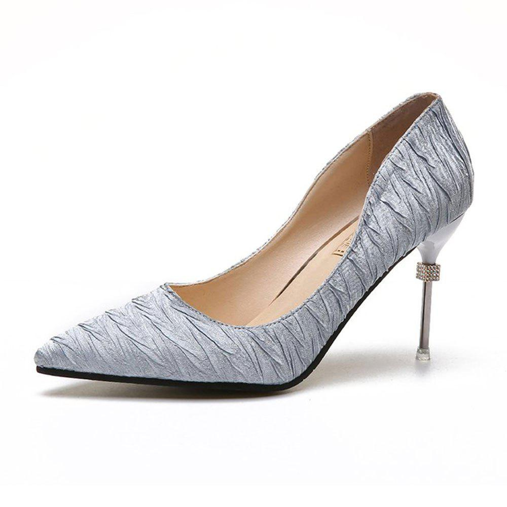 Discount New Pointed Fine with Air Shoes in High Heels