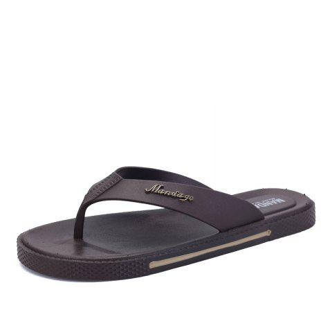 Unique Fashion Men's Casual Slip Slippers