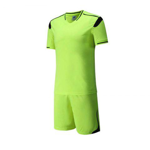 Discount Men's Breathable Simple Style Sports Set