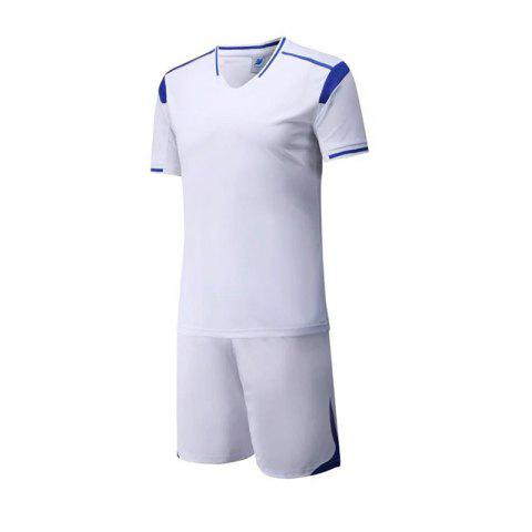 Chic Men's Breathable Simple Style Sports Set