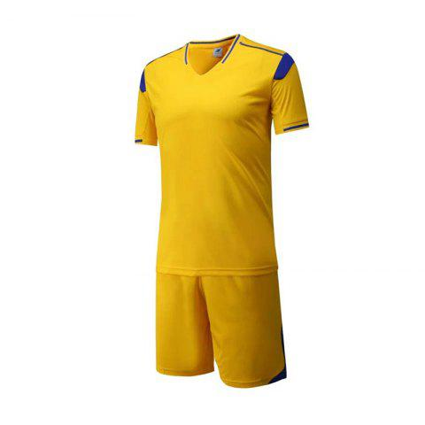 Affordable Men's Breathable Simple Style Sports Set