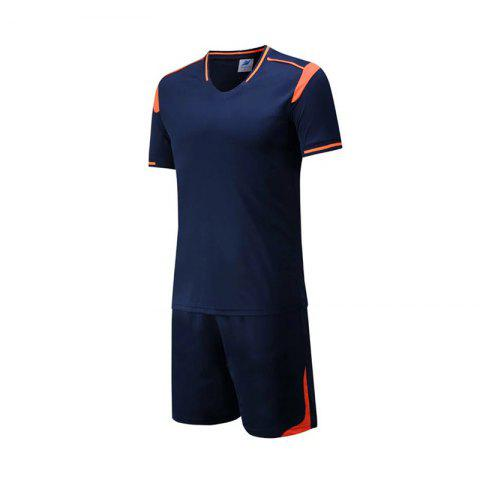 Latest Men's Breathable Simple Style Sports Set