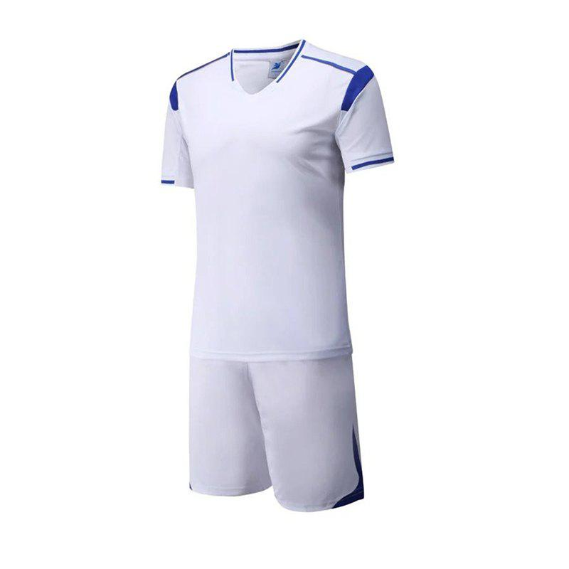 Fashion Men's Breathable Simple Style Sports Set