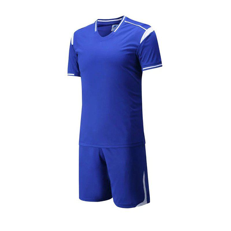 Shops Men's Breathable Simple Style Sports Set