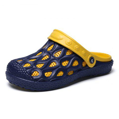 Unique Ventilated Comfortable Hollow Out Men's Slippers
