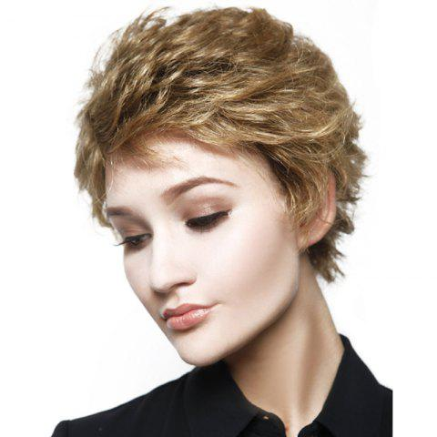 Trendy New Fashion Women Curly Layered Synthetic Short Wigs