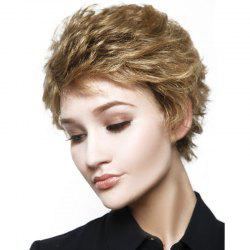 New Fashion Women Curly Layered Synthetic Short Wigs -