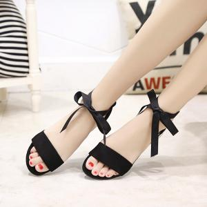Slug And Female Sandals Students Open Toe Strap -