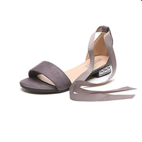 Chic Slug And Female Sandals Students Open Toe Strap