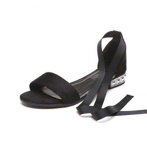 New Slug And Female Sandals Students Open Toe Strap