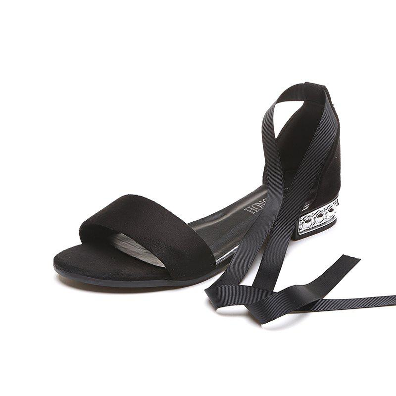 Discount Slug And Female Sandals Students Open Toe Strap