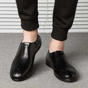 New Men'S Solid Color Classic Business Casual Shoes -