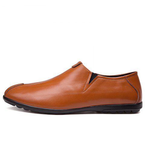 Hot New Men'S Solid Color Classic Business Casual Shoes