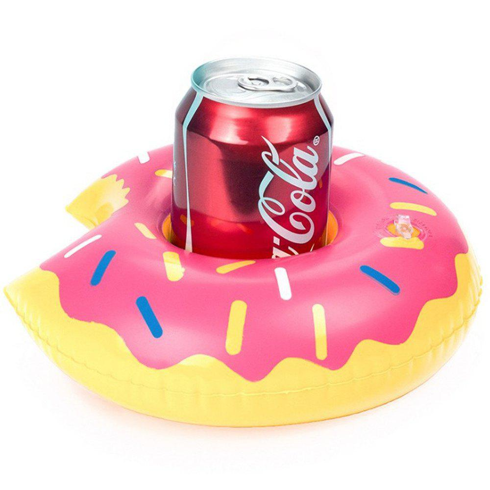 Cheap Hot Air Beverage Cup Holder Mini Donut Party Supplies Swimming Pool Toys