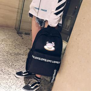 Large Capacity Wild Simple Fashion Small Fresh Female Students Backpack Tide -
