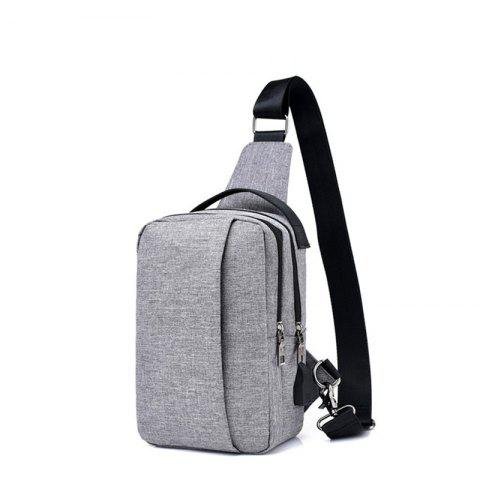Best USB Charging Shoulder Chest Bag Sports Canvas for Outdoor