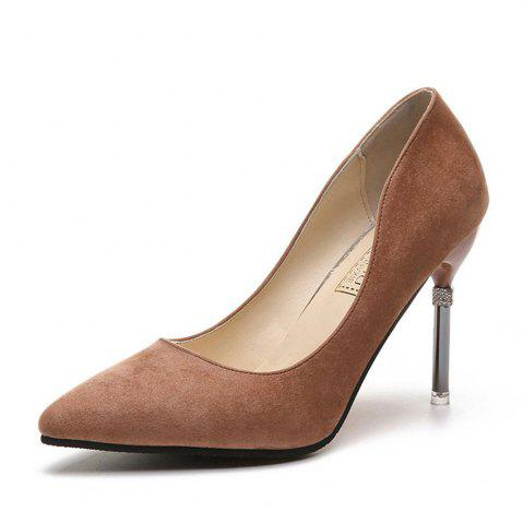 New Summer New Pointed Fine with Air Quality High Heels