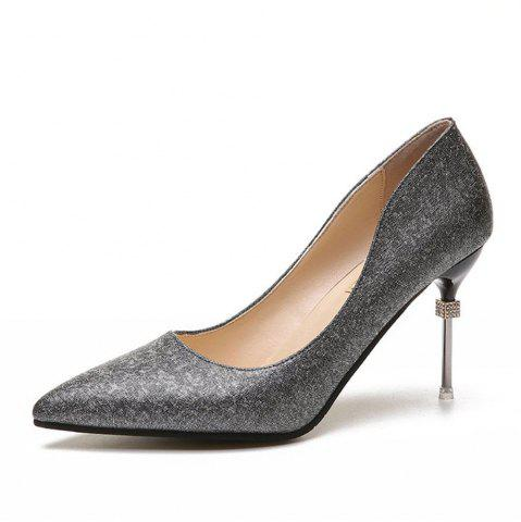 New Summer New Pointed Fine with Elegant High Heels