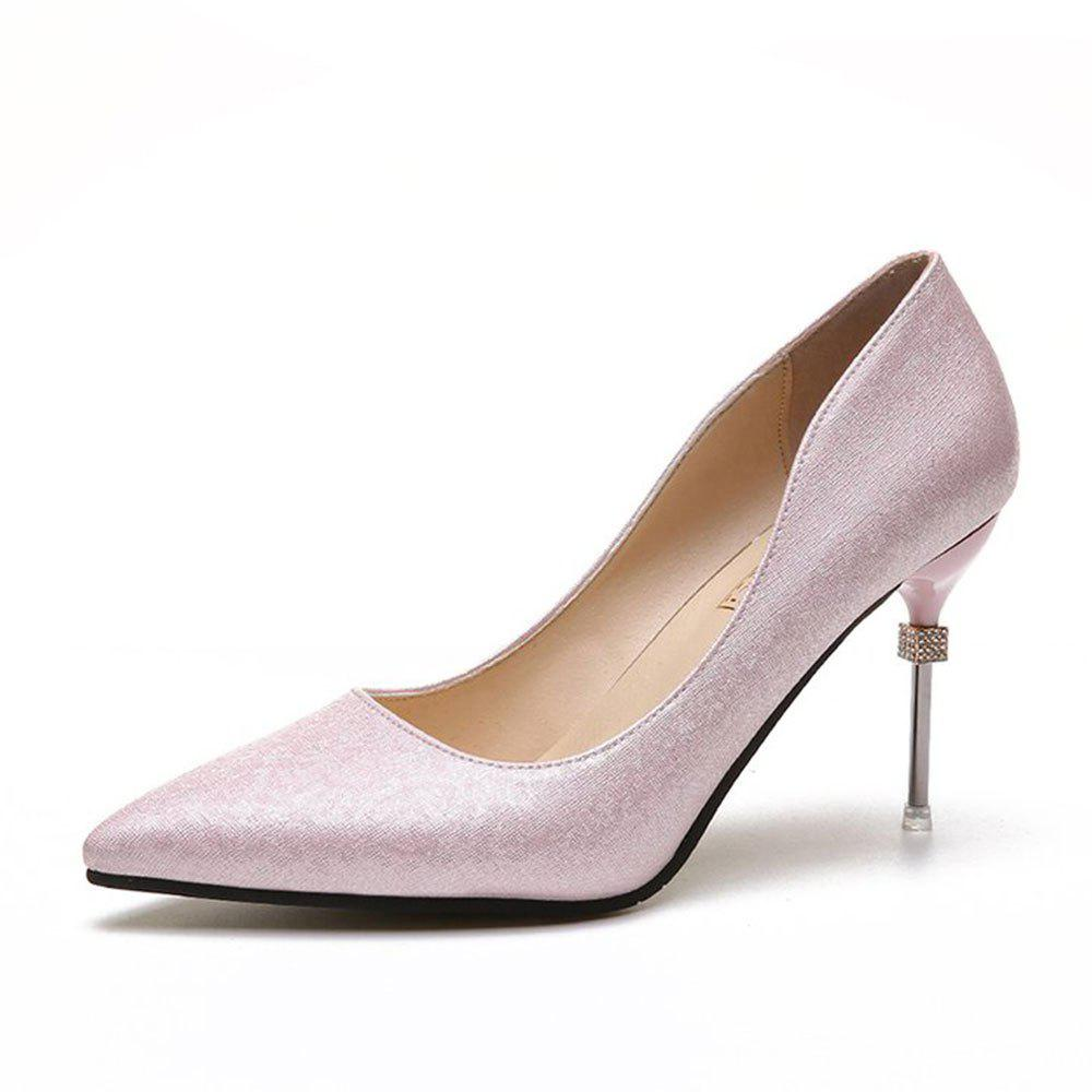 Online Summer New Pointed Fine with Elegant High Heels