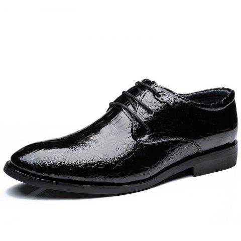 Sale ZEACAVA Men's Casual Heighten Leather Business Shoes