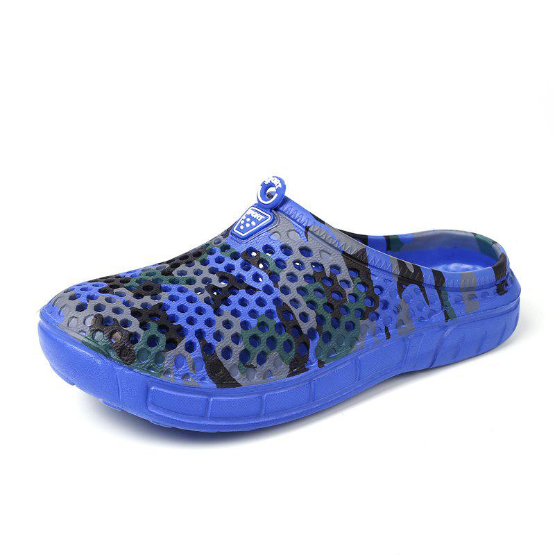 Shop Breathable Comfortable Hollow Out Men's Slippers
