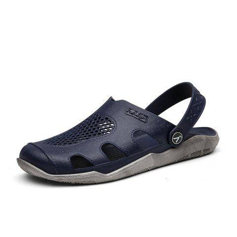 Trendy Breathable Comfortable Leather Sandals for Men