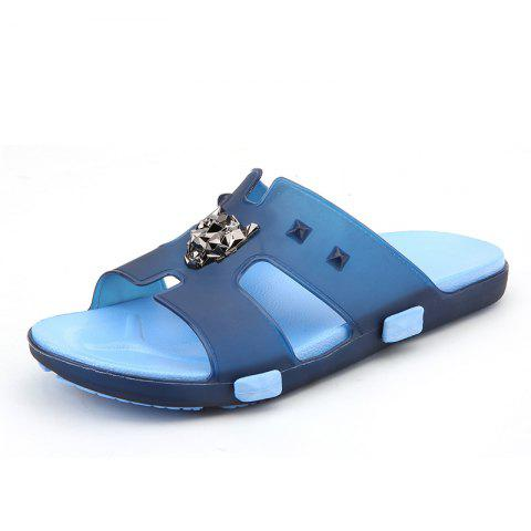 Online Breathable Comfortable Jelly Slippers for Men