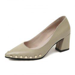 Shallow Mouth Nail All-match Chaussures à talons hauts -