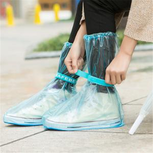 Outdoor Waterproof Reusable Fashion Rain Coat Shoe Boots Cover Overshoes -