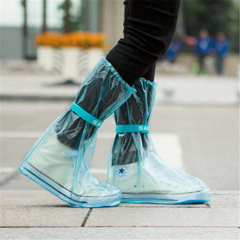 Shop Outdoor Waterproof Reusable Fashion Rain Coat Shoe Boots Cover Overshoes