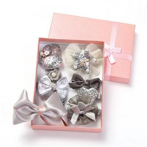 Baby Hair Accessories Bow Tie 10 Pieces of Girls Jewelry Gray Series -